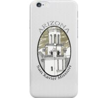 San Xavier Mission East Tower iPhone Case/Skin