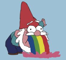 Gnome puking happiness - Gravity Falls Kids Clothes