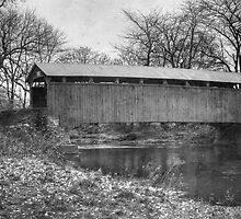 Sam Wagner Covered Bridge (circa 1881) by Gene Walls