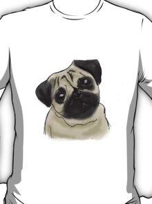 Pug Portrait T-Shirt