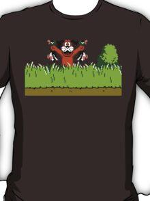 Duck Hunt Dog with 2 Ducks T-Shirt
