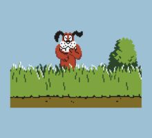 Duck Hunt Dog laughing by Funkymunkey