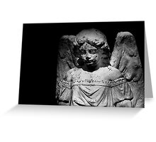 In heaven an angel is nobody in particular.... Greeting Card