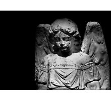 In heaven an angel is nobody in particular.... Photographic Print