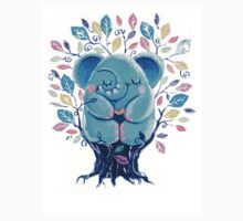 Hiding Place - Rondy the Elephant Sitting In a Tree T-Shirt