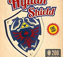 Hylian Shield Art by VideoGameFan