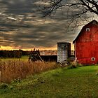 Calhoun County, Battle Creek, Michigan by Rocco Goff