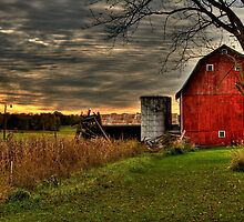 Calhoun County, Battle Creek, Michigan by Rocco Goff