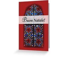 Buon Natale! Italian Religious Christmas Card Greeting Card