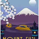 Race to Mount Fuji by stevethomasart