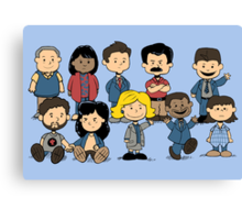 Parks and Rec Peanuts Canvas Print