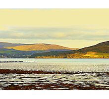 Looking From Rathmullan Across Lough Swilly Photographic Print