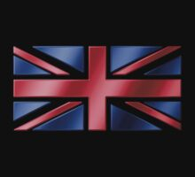 British Flag - UK - Metallic by graphix