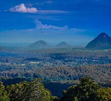 Glass House Mountains by Stephen Swayne