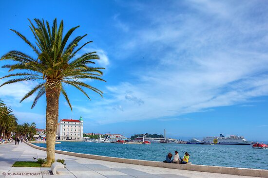The harbor of Split / Croatia                              [FEATURED] by John44