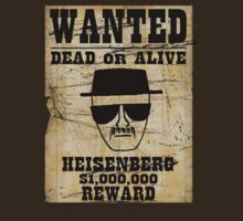 Heisenberg Wanted by Musicfreak