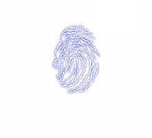 Fingerprint Electrical blue ios 7 by Khene
