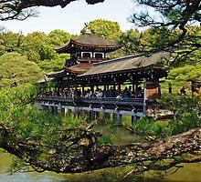 Heian Shrine Bridge by DarthIndy