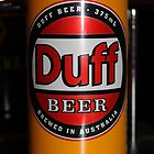Duff Beer by Richard  Cubitt
