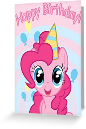 Handy image in my little pony printable birthday cards