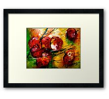 Crimson Wind... Framed Print