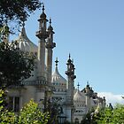 Brighton Pavillion by Gabrielle Battersby