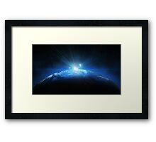 Earth Halo Framed Print