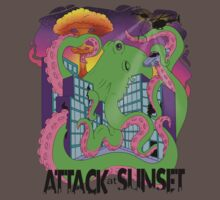 Attack At Sunset Octopus Design by AttackAtSunset