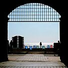 Brighton through the Archway by mikebov