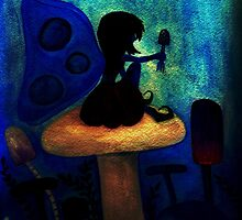 Blue Fairy After Dark by Emily Alexander