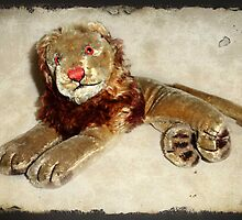 Vintage Steiff Lion by Bine