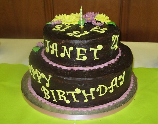 Chocolate Birthday Cake (Janet, 21) by BlueMoonRose
