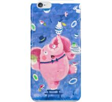 Elephant in a porcelain shop - Clumsy Rondy the Elephant iPhone Case/Skin