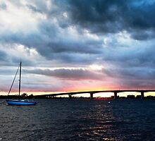 Sailboat at Marina Jacks by Peter Le