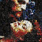 Phantom and Christine Love Never Dies mosaic by LokiLaufeysen