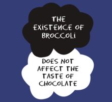 TFIOS - The Existence of Broccoli Does Not Affect The Taste of Chocolate by Connie Yu