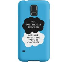 TFIOS - The Existence of Broccoli Does Not Affect The Taste of Chocolate Samsung Galaxy Case/Skin