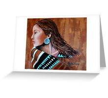 Mariah, Wrapped In Tradition #12 Greeting Card