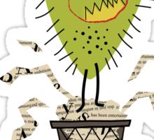 Press Monster Sticker