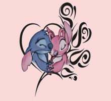 Stitch and Angel by NeosporinSwag