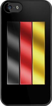 German Flag - Germany - Metallic by graphix