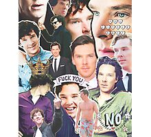 benedict collage Photographic Print