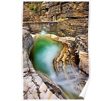 Natural pool in Zagori Poster