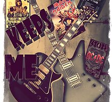 METAL KEEPS ME INSANE by Matterotica