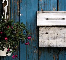 Wooden Mailbox by jasonksleung