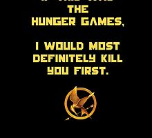 Hunger Games by LittleRedTrike