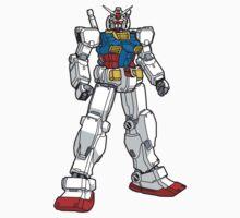 Gundam RX78-2 by UndeadWraith