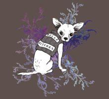 BAD dog – biker chihuahua Kids Clothes