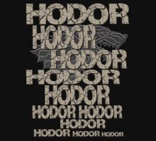 HODOR! - Game of Thrones by Marjuned