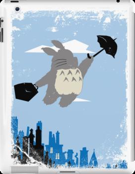 Totoro Poppins by Dam90
